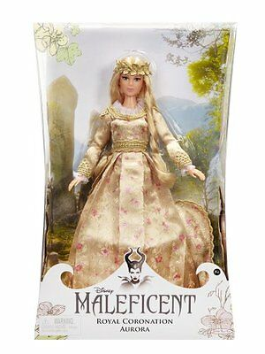 "Maleficent: 11.5"" Aurora Royal Coronation Collector Doll"