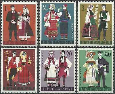 Timbres Folklore Bulgarie 1641/6 ** lot 9185