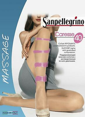 Set 6 Paia Collant Donna Sanpellegrino Caresse 40 Den
