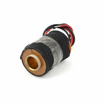 20cm Wire DC 24V Traction Electromagnetic Coil 34mm x 25mm