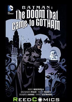 BATMAN THE DOOM THAT CAME TO GOTHAM GRAPHIC NOVEL Collects 3 Part Series