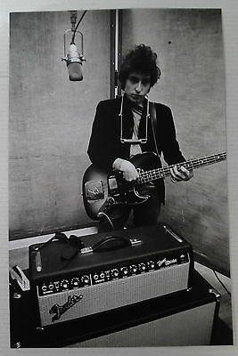 "Bob Dylan  Promo Poster * 11"" x 17"" Limited Rare"