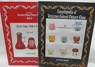 Encyclopedia Victorian Colored Pattern Glass 4 Vols. by Heacock W.