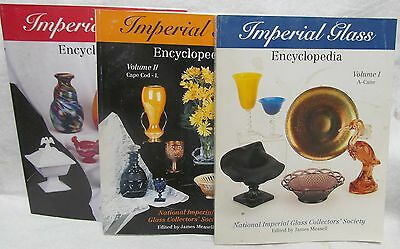 Imperial Glass encyclopedia Vols. 1,2,3