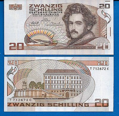 Austria P-148 Twenty Kronen Year 1986 Uncirculated Pre-Euro FREE SHIPPING