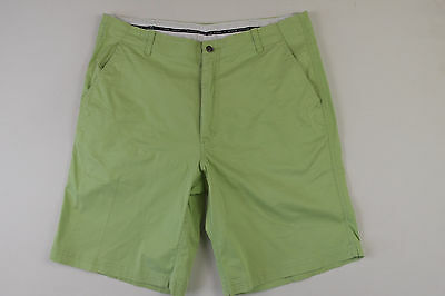 D-080 Sporte Leisure Mens Golf Stretch Shorts Size 87 Green Ex-Cond