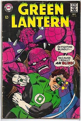 GREEN LANTERN # 56 Silver Age DC Comics October 1967