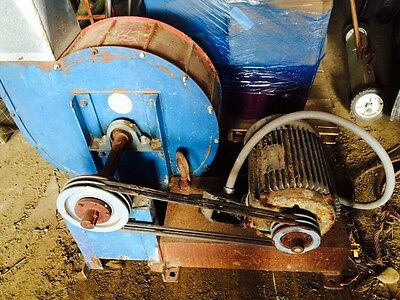 Cornell Sawdust Material Blower