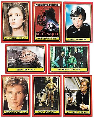 1983 Topps Star Wars Return of the Jedi Singles Series 1 You Pick $.99 EACH