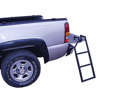 Traxion Tailgate Step Ladder Heavy-Duty Easy Climbing 5-100 NEW Free Shipping