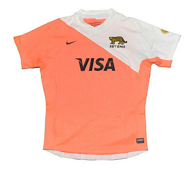 Pumas Argentina 2014 Authentic Player Issue Shirt Nike Xl Xxl Seven
