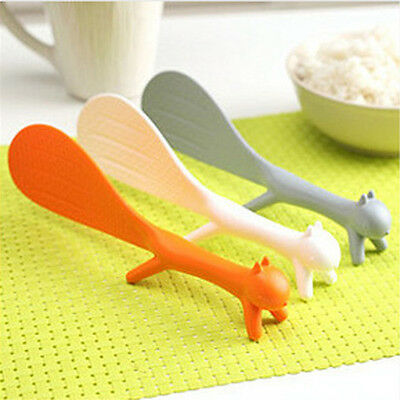 Moden Design Creative Home Creative Squirrel Spoon Can Stand Sticky Tables Hot
