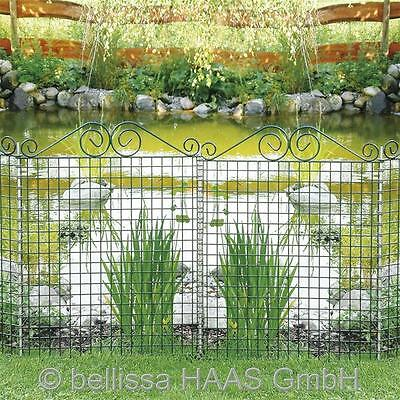 Pond protection fence Ambience with Squiggle bellissa 76x94cm