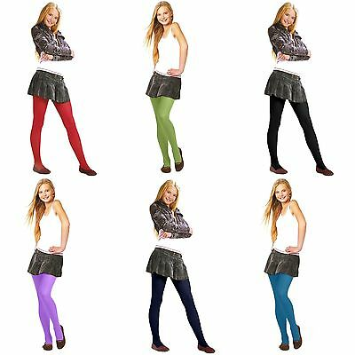 Girl's Tights 40 Denier Semi Opaque Victoria Hosiery by Lady K Range of Colours