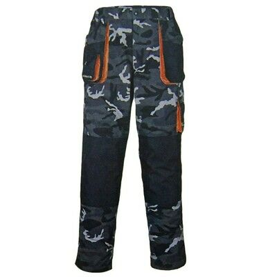 Anglerhose Camouflage Outdoorhose Angelsport Gr. 56 oder 58 Terratrend Job 3230