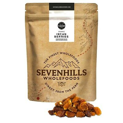 Organic Raw Incan Berries   Detox, Diet, Weight loss - by Sevenhills Wholefoods