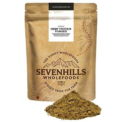 Sevenhills Wholefoods Organic Raw Hemp Protein Powder | Protein Diet Detox