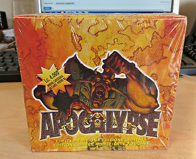 Mutant Chronicles Doomtrooper Apocalypse Booster Box Italian Sealed New 20 buste