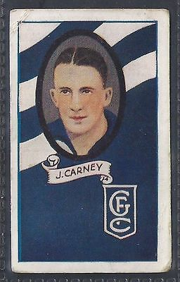 Allen (A.w.)-Football Ers (Striped Colours) Aussie Rules-#31- Geelong - Carney