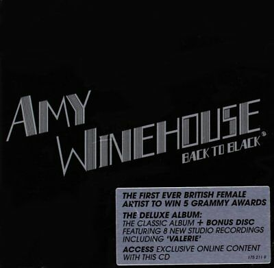 AMY WINEHOUSE Back to Black CD Brand NEW Deluxe Edition