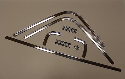 Mopar 68 69 1968 1969 70 Dodge Charger Rear Window Trim Molding with Clips NEW