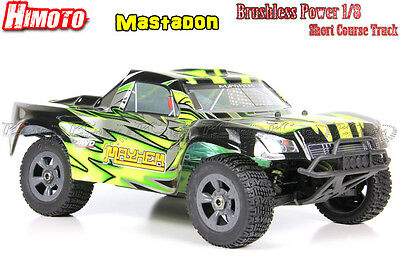 Himoto Mayhem 1:8 Scale 4x4 RC Brushless Short Course Truck RTR