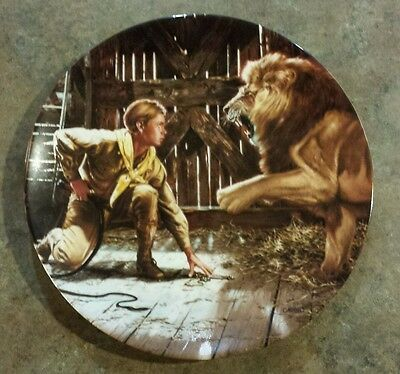 1990 Delphi Young Indiana Jones And The Last Crusade Plate Numbered 838 A