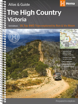 Hema Map Book Victoria High Country Atlas & Guide 3rd Ed 30 Top 4WD Trip