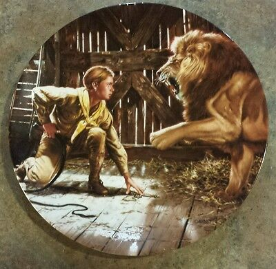 1990 Delphi Young Indiana Jones And The Last Crusade Plate Numbered 4069 A