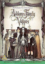 Addams Family Values New Region 2 Dvd