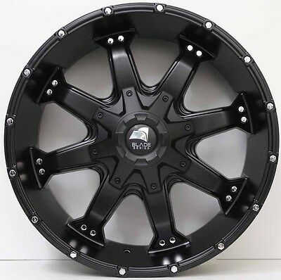 20 inch GENUINE BLADE SERIES 2  4X4 SUV NEW RELEASE ALLOY WHEELS (875)