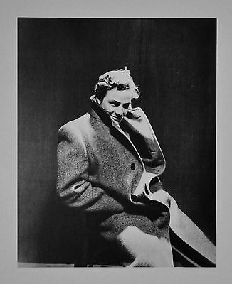 Cecil Beaton Ltd. Ed. Photo Heliogravure 30x40cm Marlon Brando 1947 Portrait B&W