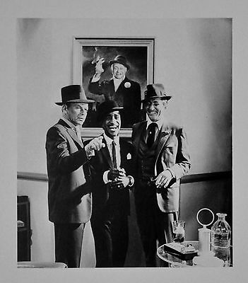 Cecil Beaton Photo Frank Sinatra Sammy Davis Jr. Dean Martin 1956 High Society