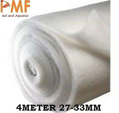 4M Aquarium Pond fish tank Filter Wool 25-30mm for koi ponds