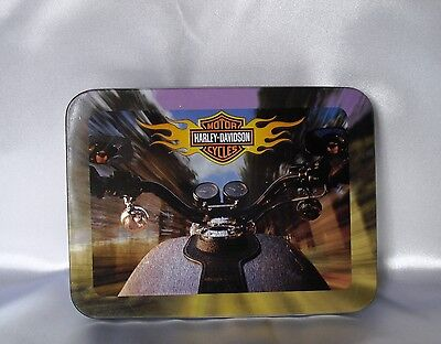 2002 Harley Davidson Collectible Tin 2 Decks Playing Cards New