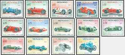 Timbres Sports Voitures Monaco 708/21 ** lot 9268