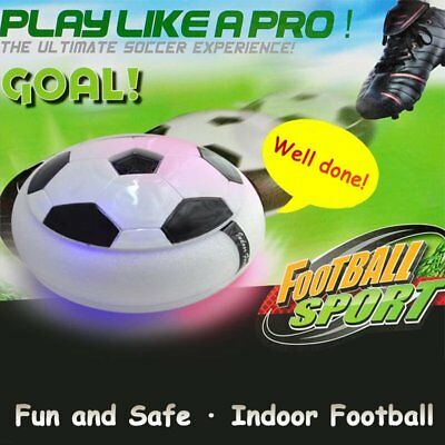 Air Power Soccer Disc Indoor Football Toy Multi-surface Hovering Gliding Toy FE