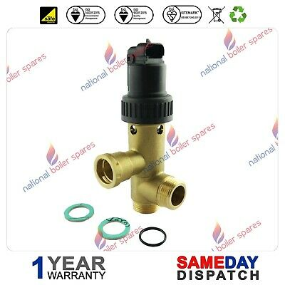 Vaillant Turbomax Plus 824E/828E/837E Diverter Valve 252457