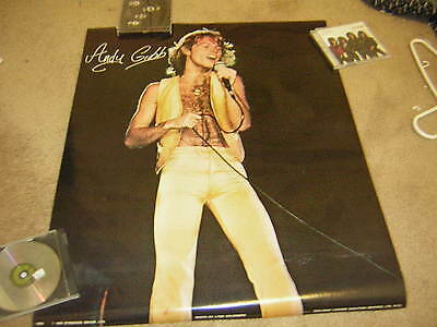 Andy Gibb  Poster 1978 Bee Gees Lynn Goldsmith Stingwood
