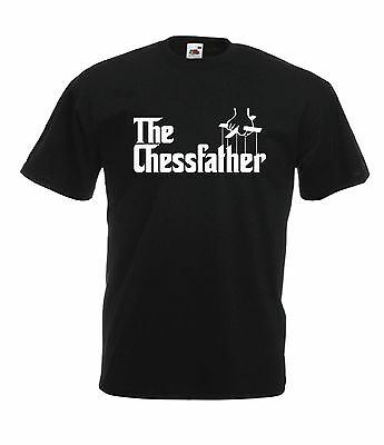THE CHESS FATHER game geek nerd gamer birthday xmas gift mens womens TSHIRT TOP