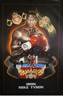 IRON MIKE TYSON POSTER (50x40cm) BOXING NEW LICENSED ART