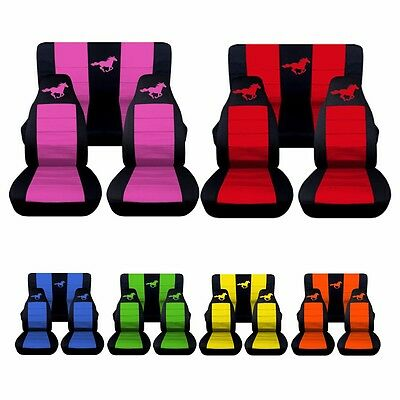 Marvelous 2005 2007 Ford Mustang Coupe Horse Seat Covers Choose Your Beatyapartments Chair Design Images Beatyapartmentscom