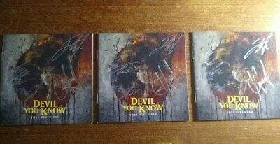 Devil You Know They Bleed Red BrandNew CD + signed booklet! killswitch engage