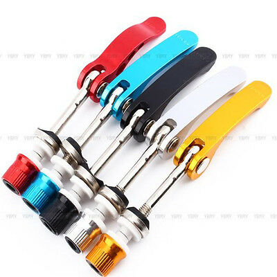 Cycling Bike Bicycle Alloy Quick Release Seatpost Seat Post Clamp Skewer Bolt FQ