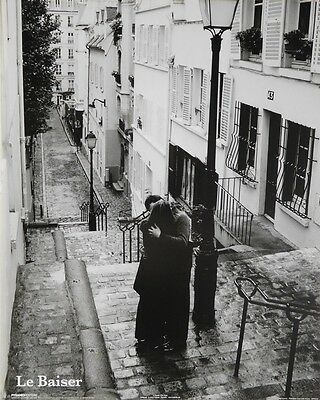 (LAMINATED) Le Baiser POSTER (40x50cm) French The Kiss New Licensed Art