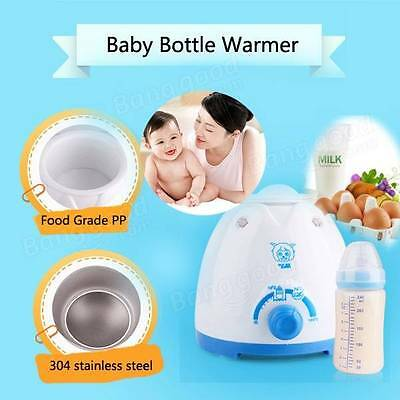 Unique Baby Bottle Milk Warmer Night Multifunctional Disinfect Thermostat Heater
