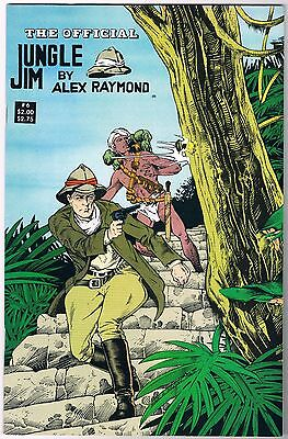 1988 The Official Jungle Jim 6 Pioneer Comic Books