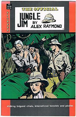 1988 The Official Jungle Jim 5 Pioneer Comic Books
