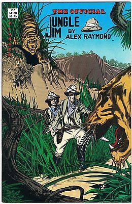 1988 The Official Jungle Jim 7 Pioneer Comic Books