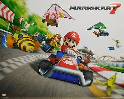 MARIO KART 7 POSTER (40x50cm) NINTENDO NEW LICENSED ART